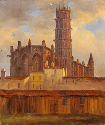 l'église des Jacobins, collection Toulousains de Toulouse